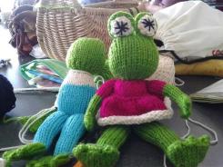Sheila's frogs